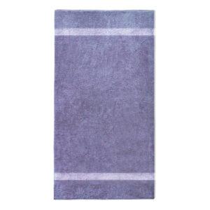 handdoek 70x140cm paars borduren