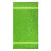 handdoek 70x140cm lime groen borduren