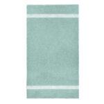 handdoek 70x140cm mint borduren
