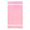 handdoek 70x140cm roze borduren
