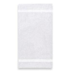 handdoek 70x140cm wit borduren