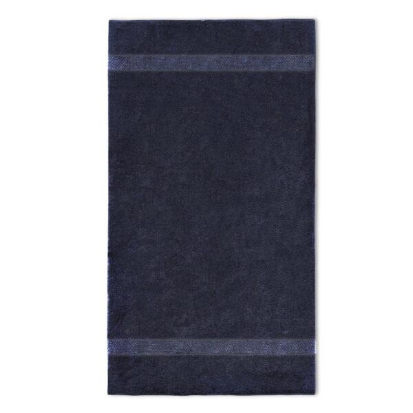 handdoek 70x140cm zwart borduren