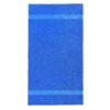 handdoek 70x140cm kobalt blauw borduren