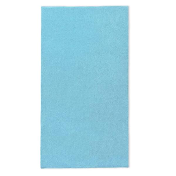 strandlaken licht blauw borduren