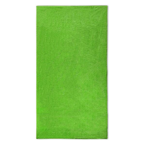 strandlaken lime groen borduren